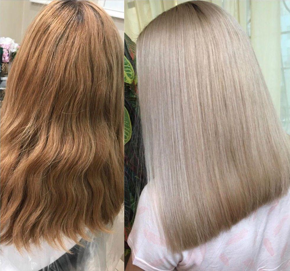 Обесцвечивание волос отзывы фото до и после спрашивайте